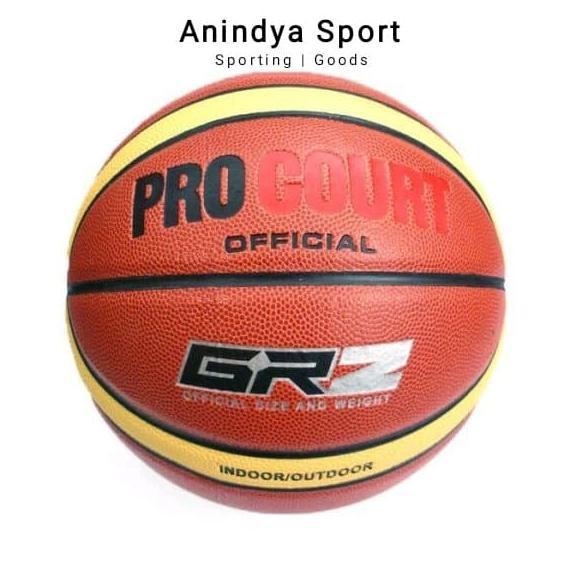 Baru bola basket bagus► Bola Basket Size 7 Procourt GRZ Indoor - Outdoor BolaBasketMurah