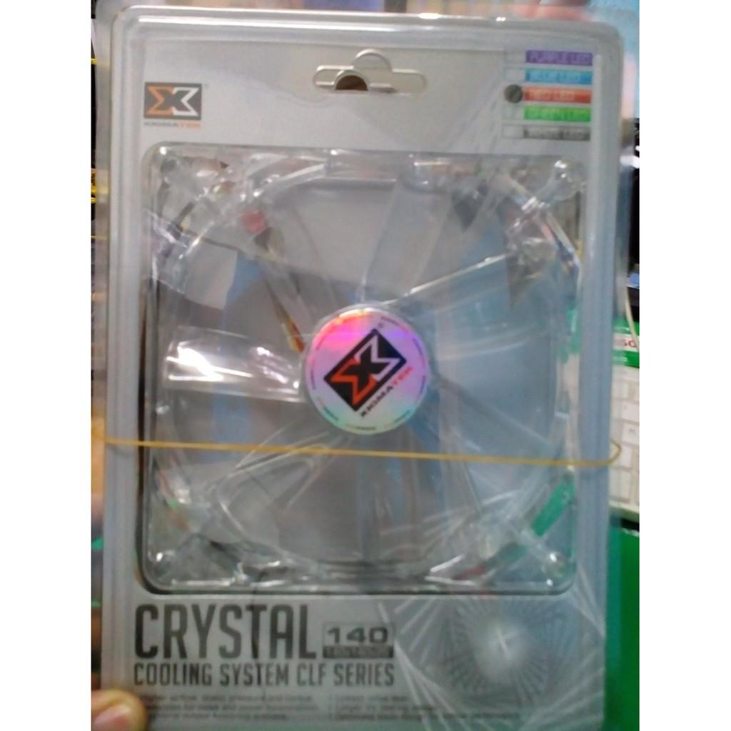 Xigmatek Clf 170mm Crystal Series Fan Shopee Indonesia Casing 12 Cm Alseye Sooncool Case 12cm Soon Cool Lampu Led