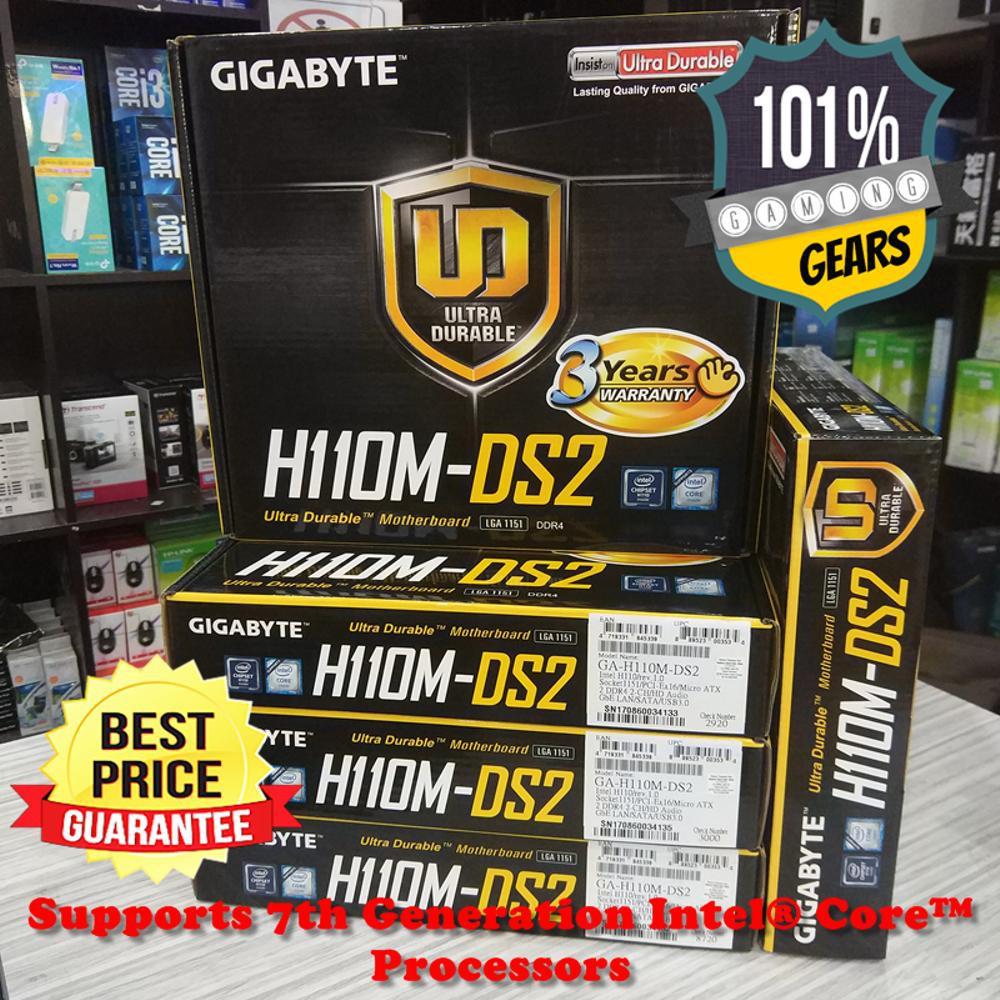 Model Baru Gigabyte Ga H110m Ds2 Motherboard Lga 1151 Shopee Indonesia Mainboard Z270 Phoenix Gaming Socket Kaby Lake Intel