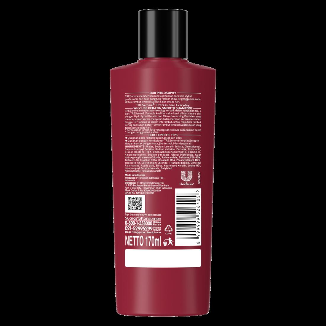 Tresemme Keratin Smooth Shampoo 170Ml-2