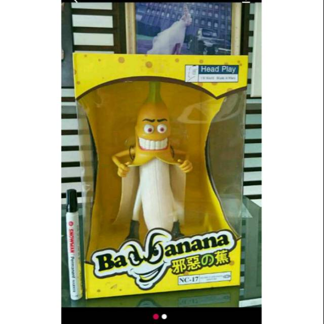 Mainan action figure bad banana hentai rare original head play jumbo scale 1/6 new misb