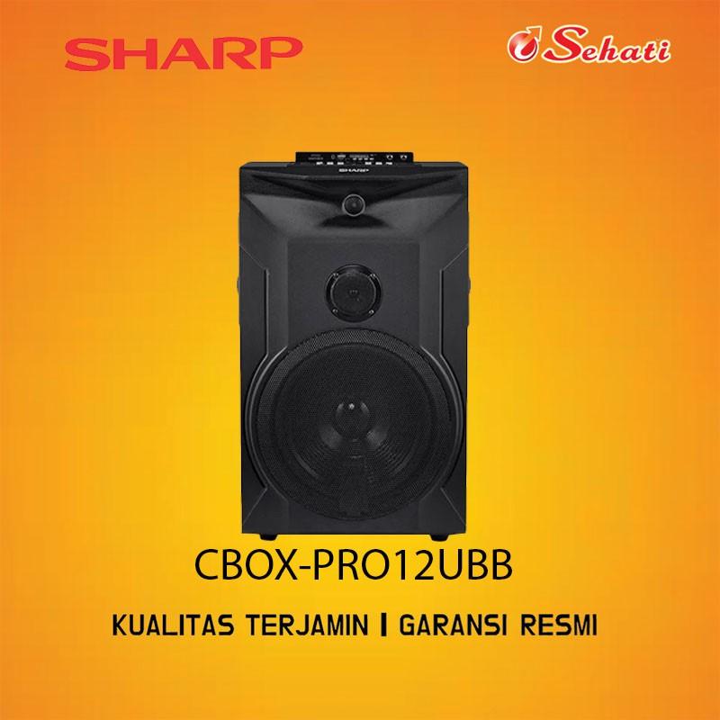 SHARP/SPEAKER/SPEAKER SHARP/CBOX PRO 12UBB