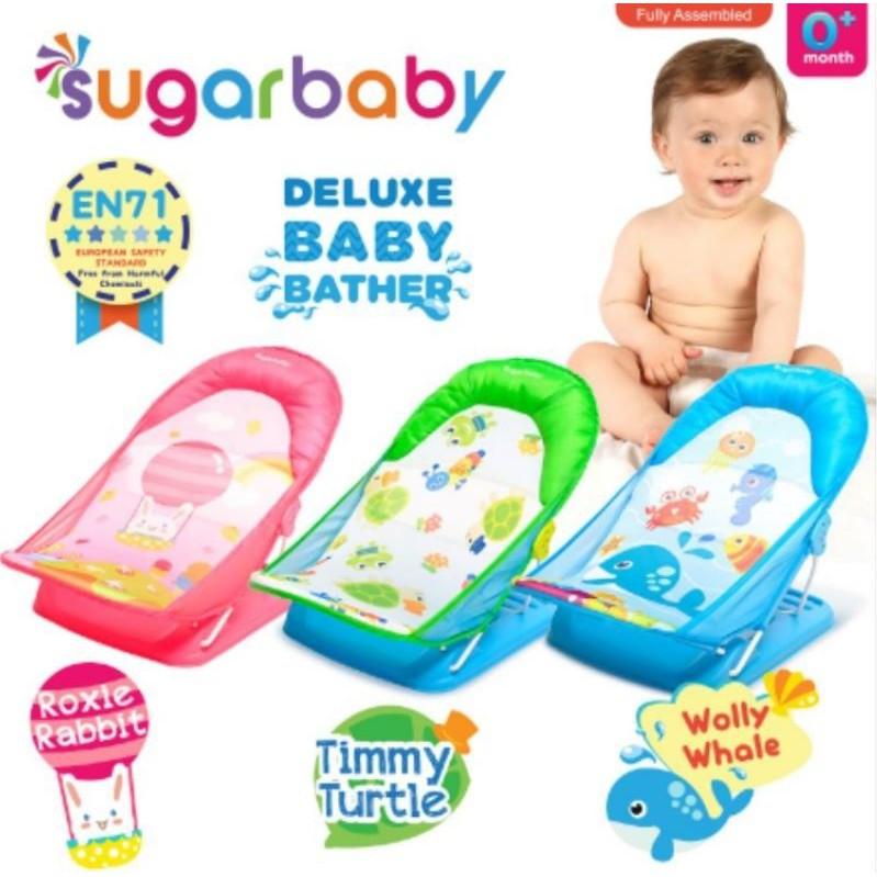 SUGAR BABY Deluxe Baby BATHER   Bather Sugarbaby Kursi