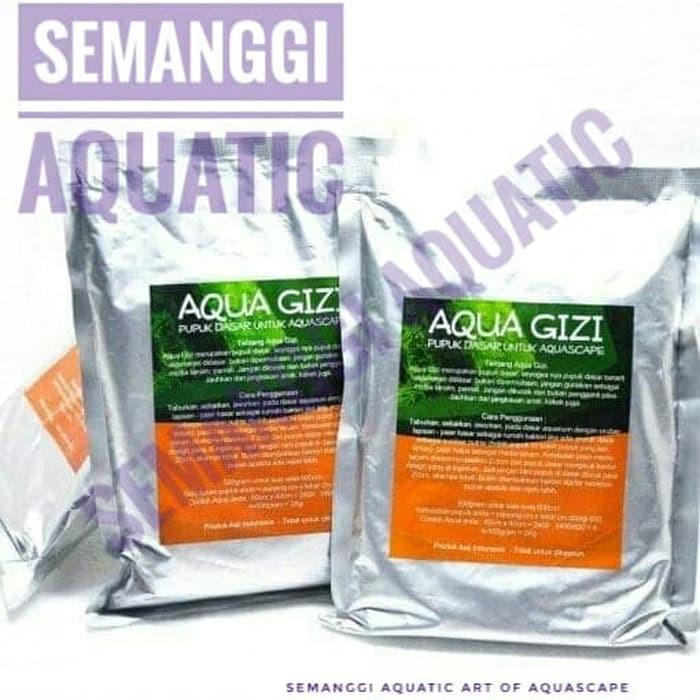 Aqua Gizi 1 Kg / Pupuk Dasar Aquascape / Pupuk Aquascape
