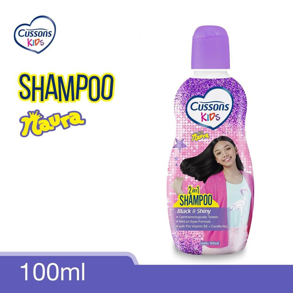 ORIGINAL Cussons Kids Shampoo 200ml & 100ml BPOM / Cussons Shampoo Anak / LEDI MART-Shampoo Ungu 100ml