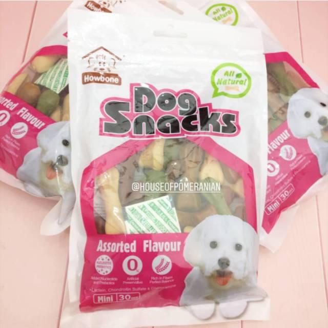 Dog Snack Makanan Anjing Tulang Kunyah Dog Chew Bone Shopee