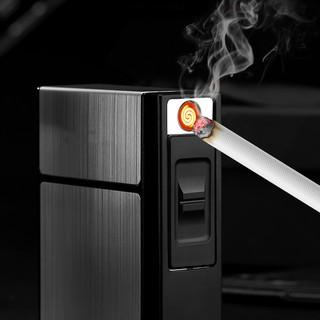 Kotak Tempat Rokok dan Korek Api Elektrik Listrik USB ...