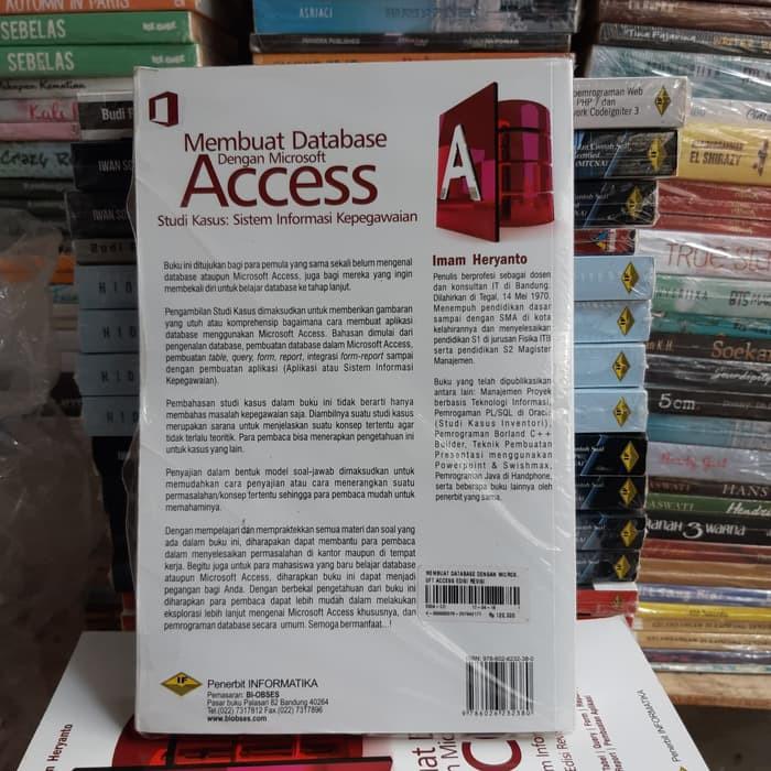 Promo Eksklusif Buku Membuat Database Dengan Microsoft Access Edisi Revisi Terbatas Shopee Indonesia