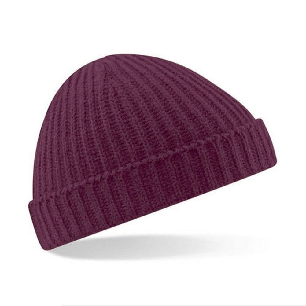 One size fits most Pink and Black Chessboard Check Oversized Slouch Beanie Hat