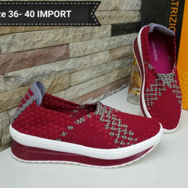 Sepatu Rajut Wanita Patrizio dan Spaletti Import  65ae71f06b