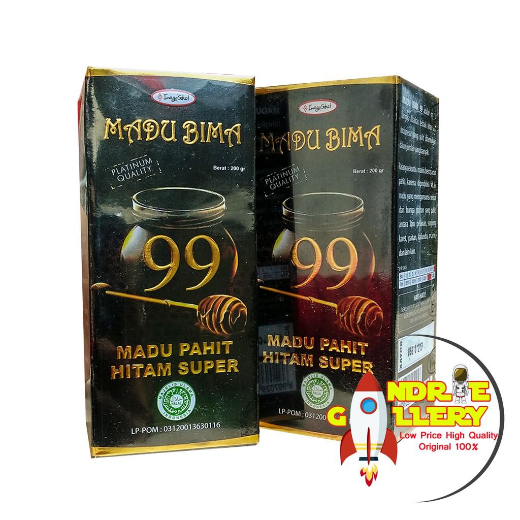 Madu Bima 99 Original Pahit Hitam Super Asli