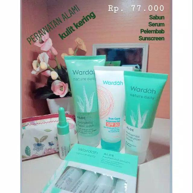 Paket Wardah Kulit Kering Paket Aloevera Shopee Indonesia