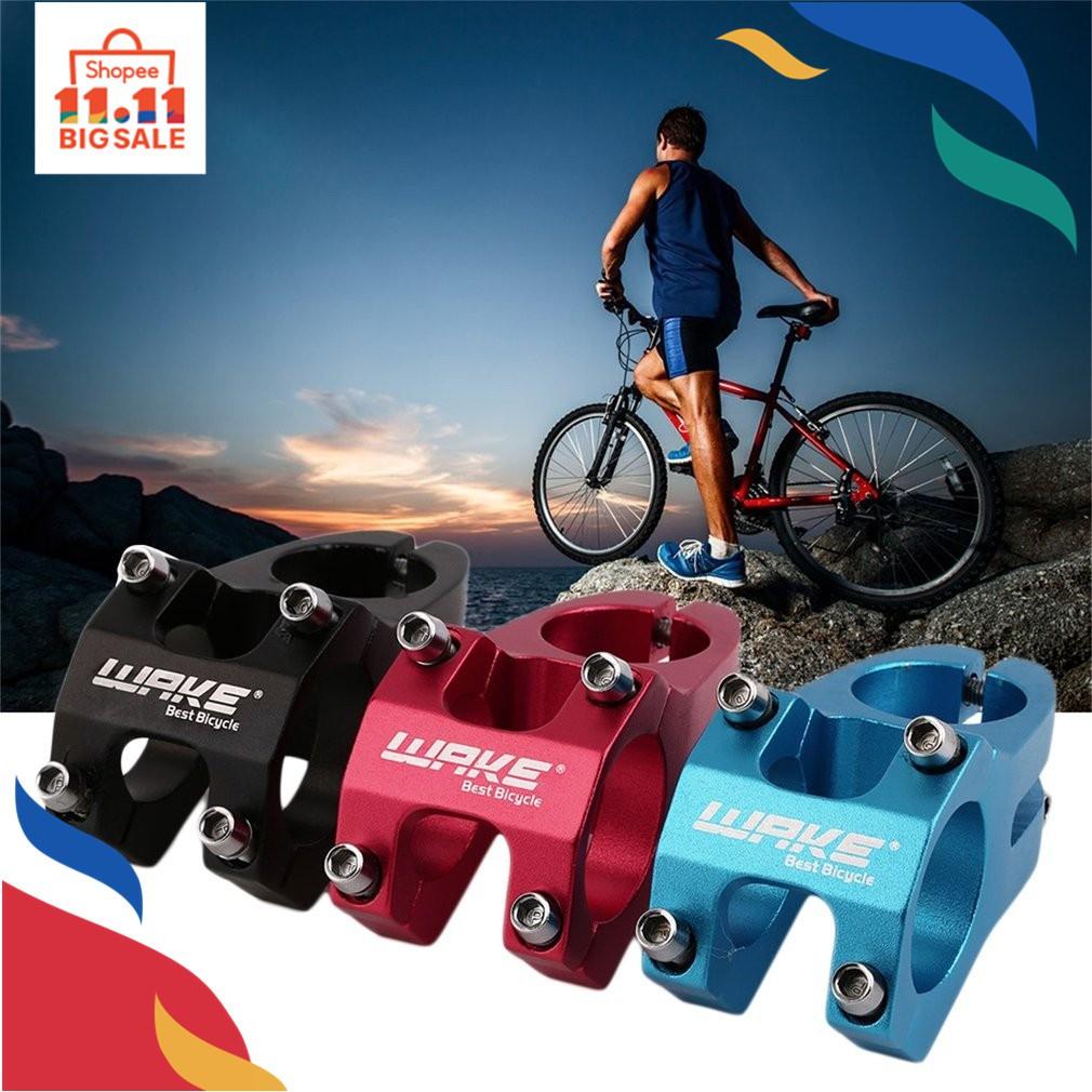 Aluminium Adjustable Bicycle MTB Road Bike Alloy Short Handlebar Stem 25.4mm