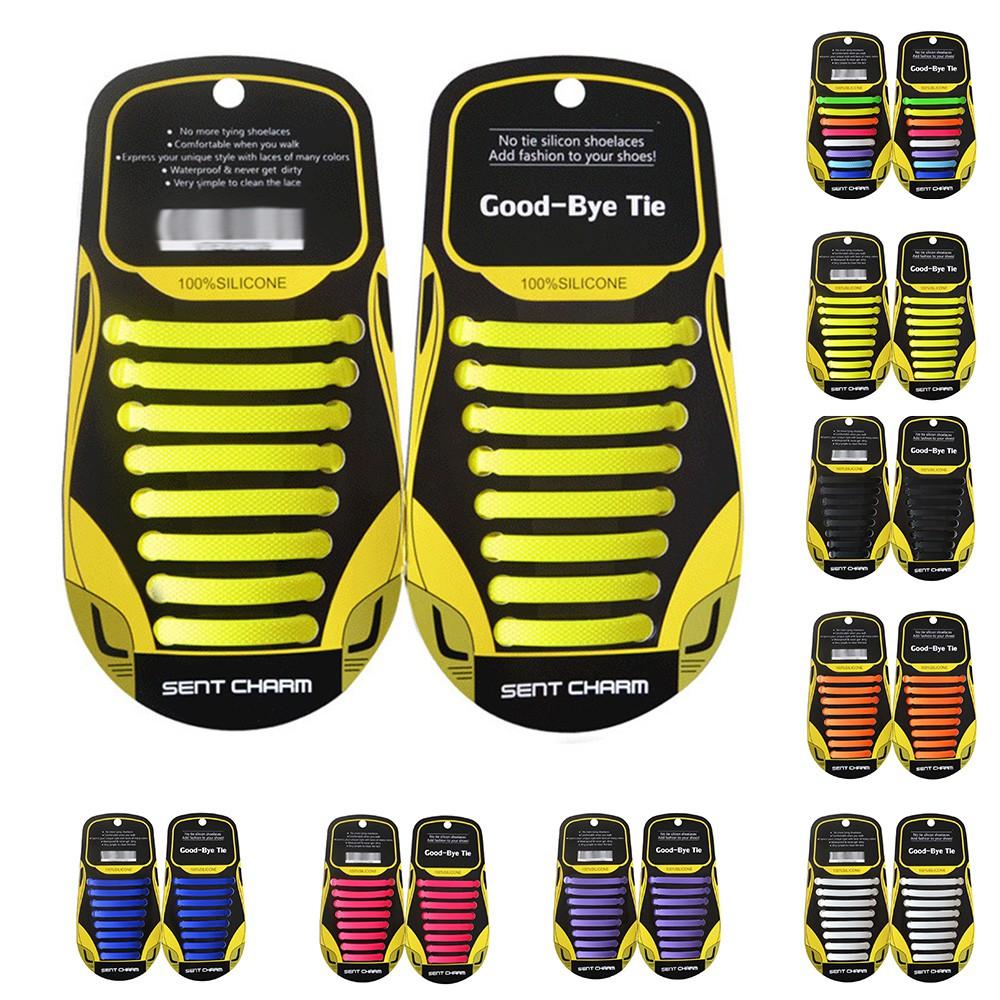 Pengunci Tali Sepatu Elastis Bahan Polyester untuk Sepatu Sneakers | Shopee Indonesia