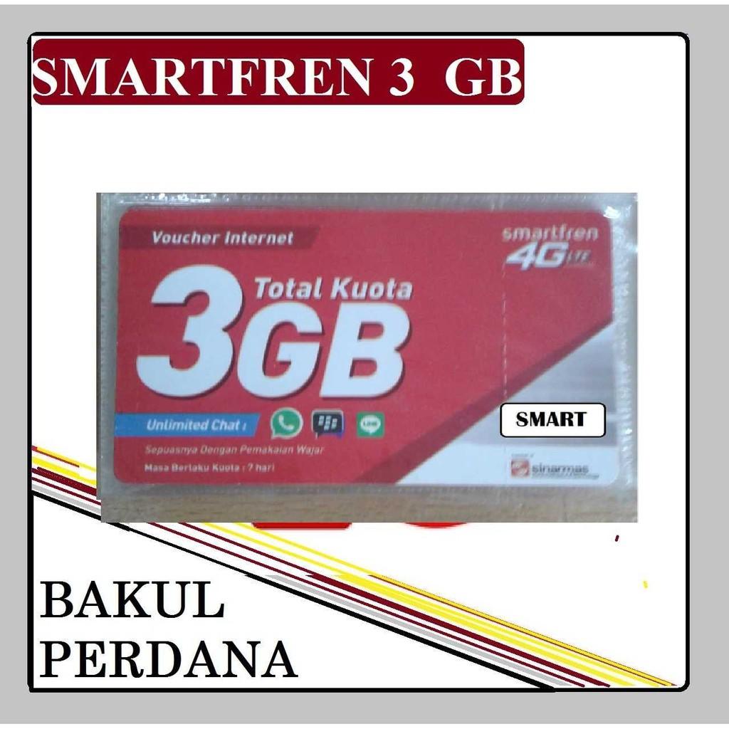 Voucher Smartfren Pulsa 20000 20 K Perdana Data 16gb Shopee Indonesia