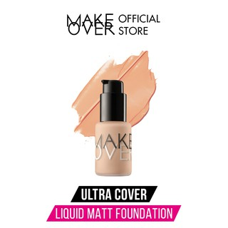 Make Over Ultra Cover Liquid Matt Foundation 33 ml