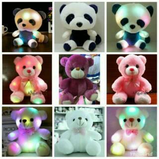 BAYAR DI TEMPAT (DARI INDONESIA) Boneka beruang import Bercahaya LED murah e3907f7515