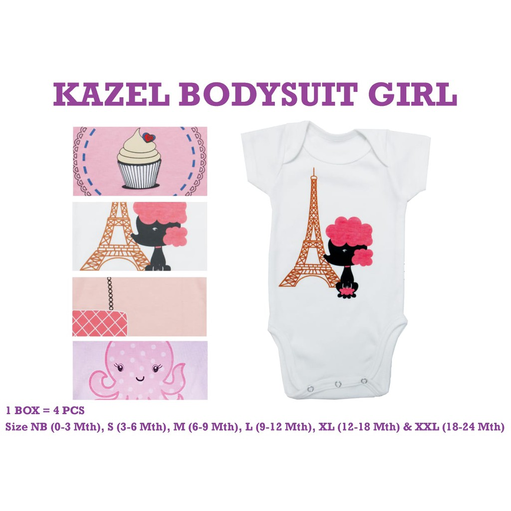 Kazel Bodysuit / Jumper 4in1 Kumis Jumper Bayi Modern Boy cherrybabykidsshop | Shopee Indonesia