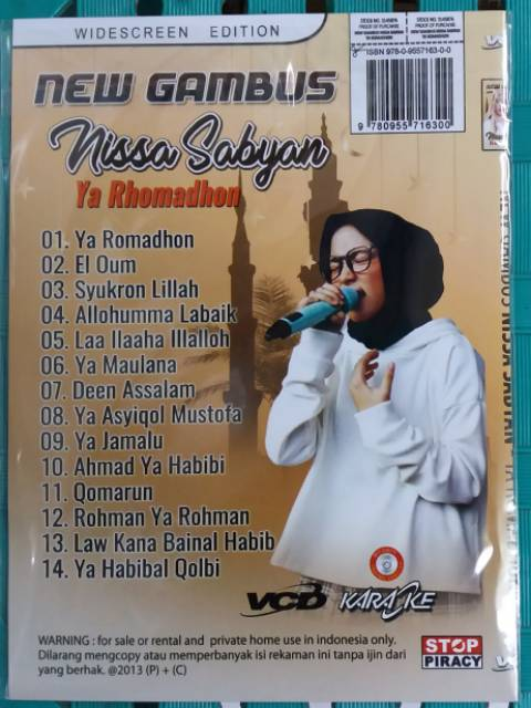 VCD Original NEW GAMBUS NISSA SABYAN   | Shopee Indonesia