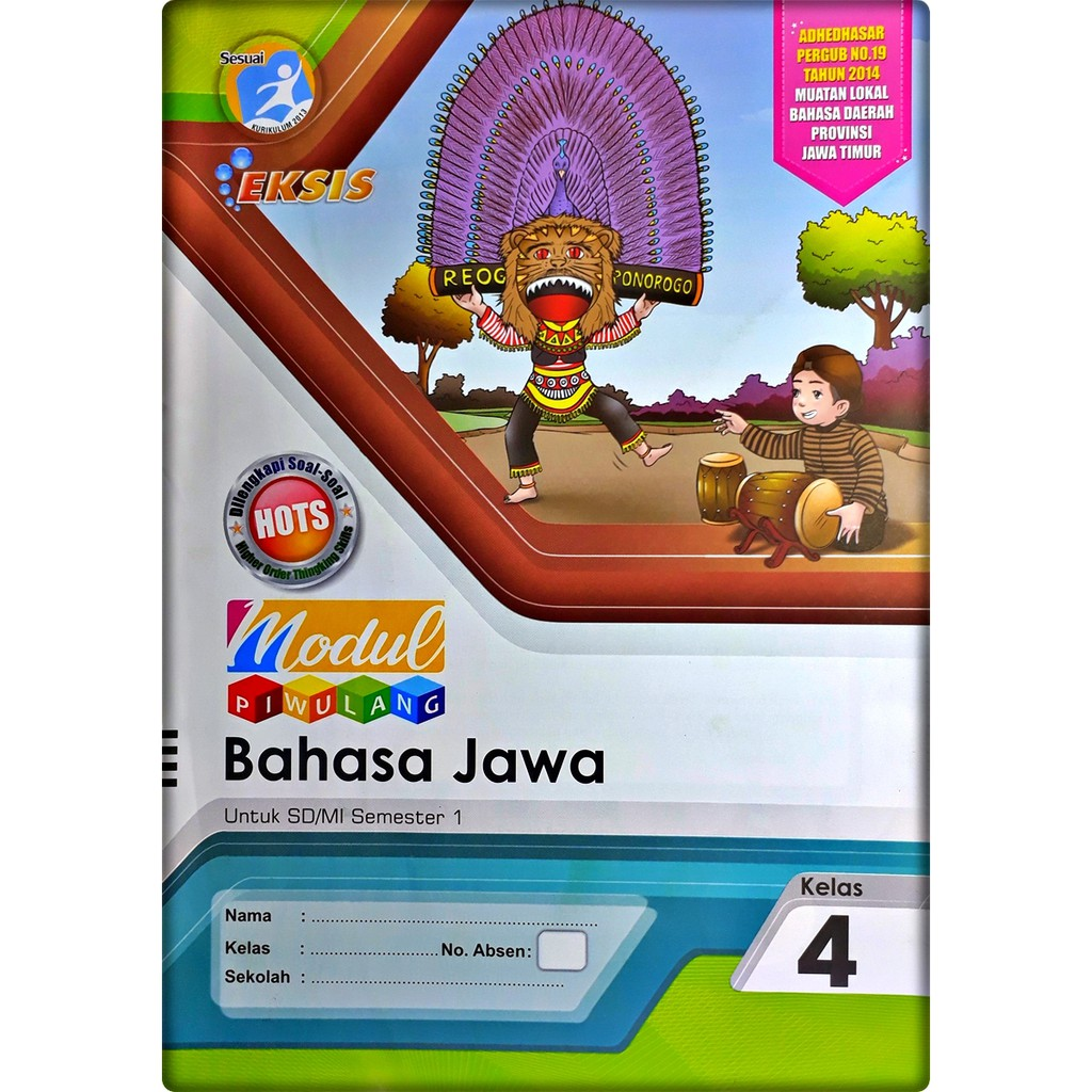 Lks Bahasa Jawa Sd Mi Kelas 4 Semester 1 2020 2021 Eksis Shopee Indonesia