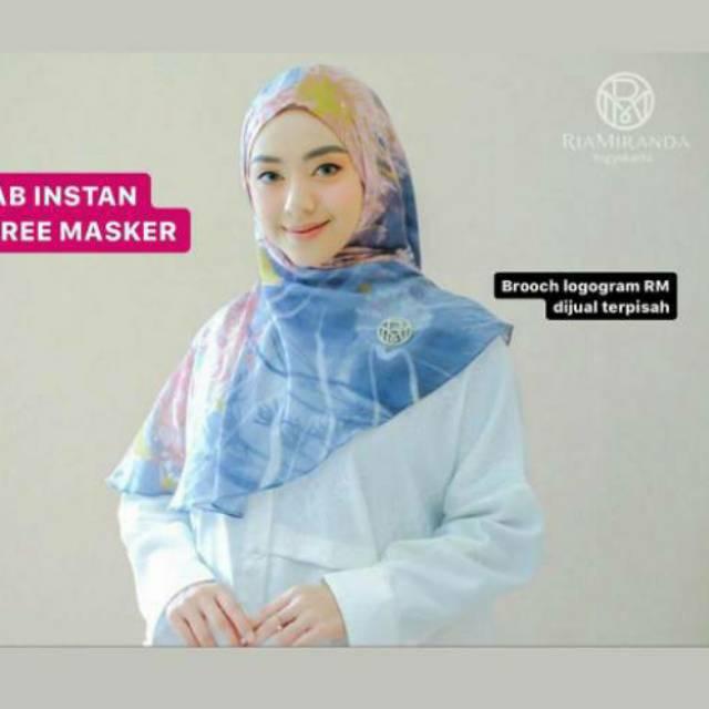Immuna Instan Ria Miranda Bergo Utopia Jilbab Shopee Indonesia