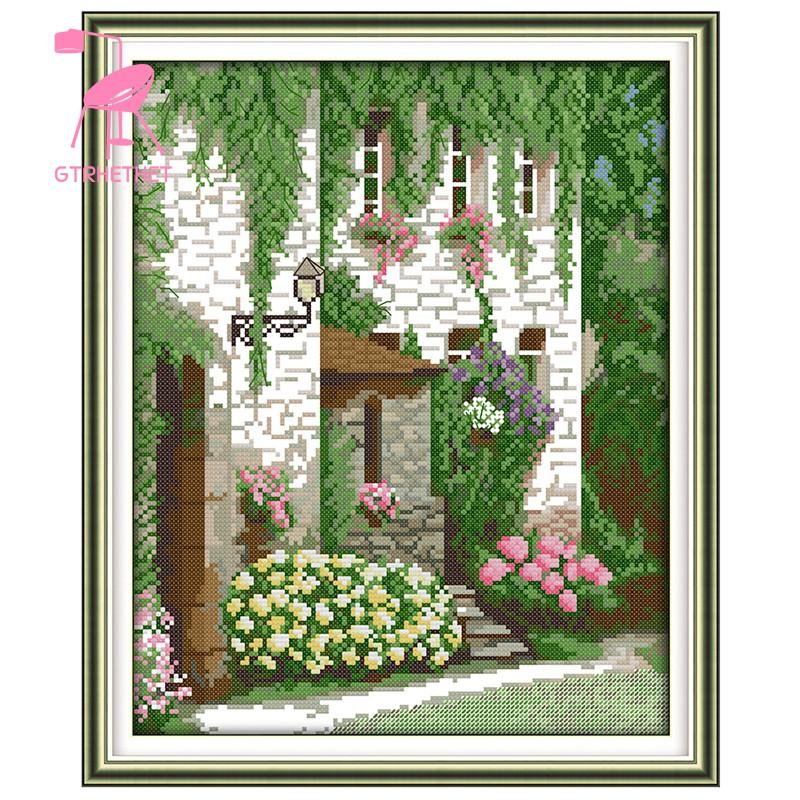 Diy Lukisan Diamond 5d Dengan Gambar Rumput Ukuran 37 45cm Untuk
