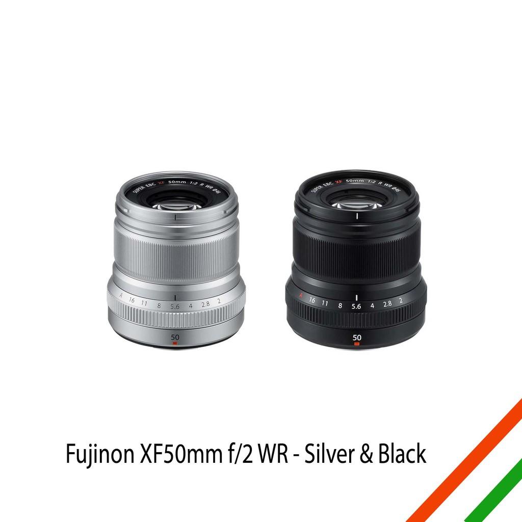 Fujinon Xf 23mm F2 Wr Silver Lensa Fujifilm Shopee Indonesia F2r Garansi Resmi Hitam