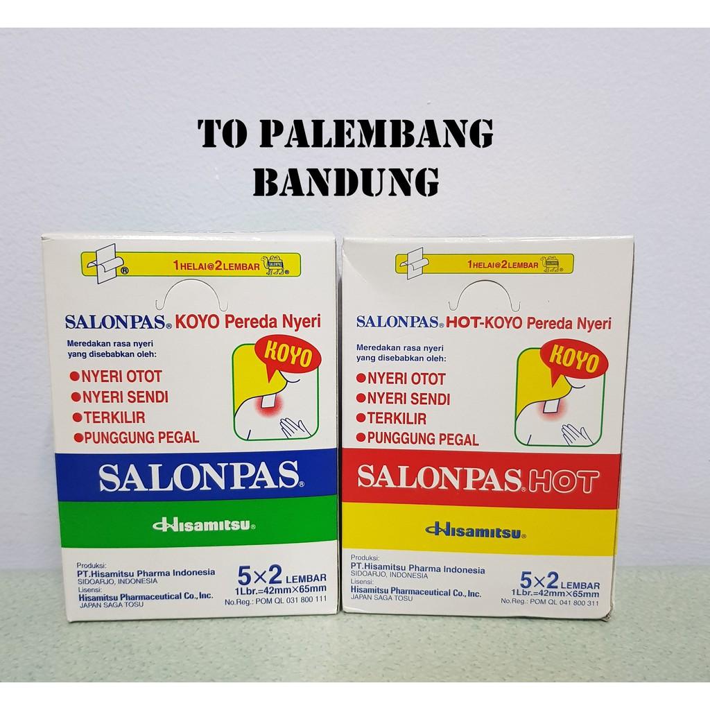 Salonpas Koyo 1 Box Shopee Indonesia Pereda Nyeri