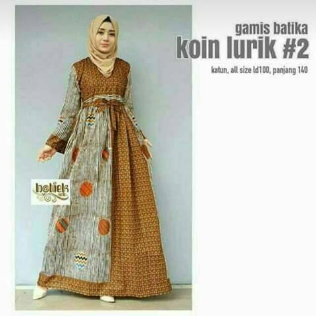Dapatkan Harga Tunik Dress Atasan Gamis Diskon Shopee Indonesia