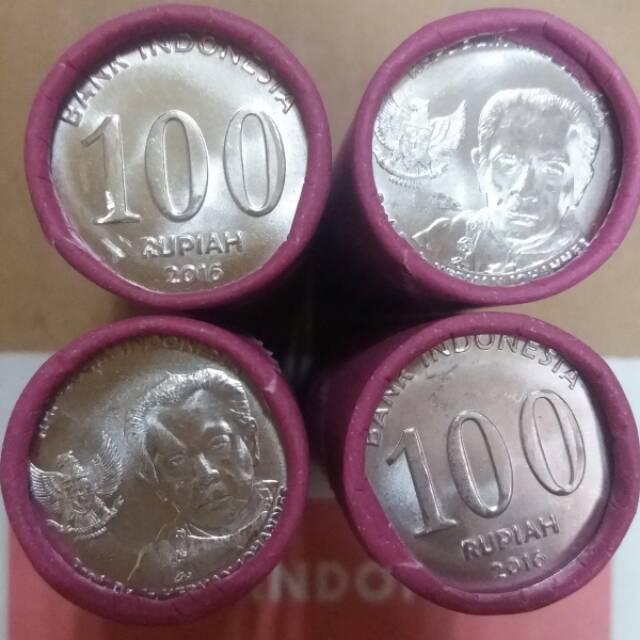 Gambar Uang Koin 100 China Uang Koin Kuno 100 Rupiah Rollan 2016 Harga Per 1 Roll Shopee