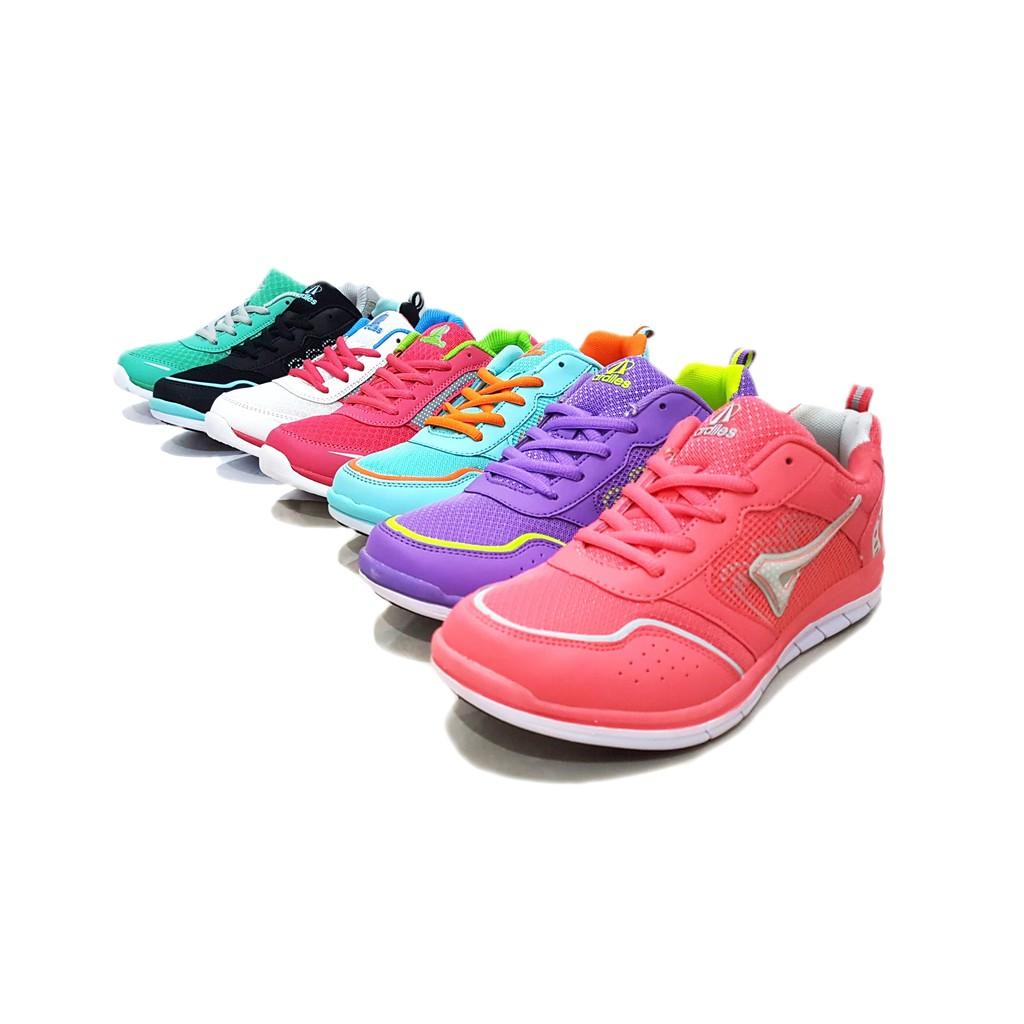 Ardiles Women Nila Shopee Indonesia Estelle Running Shoes Hitam 38