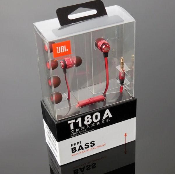 In Ear Headphone JBL T180A Original Handsfree Headset T180A ORI