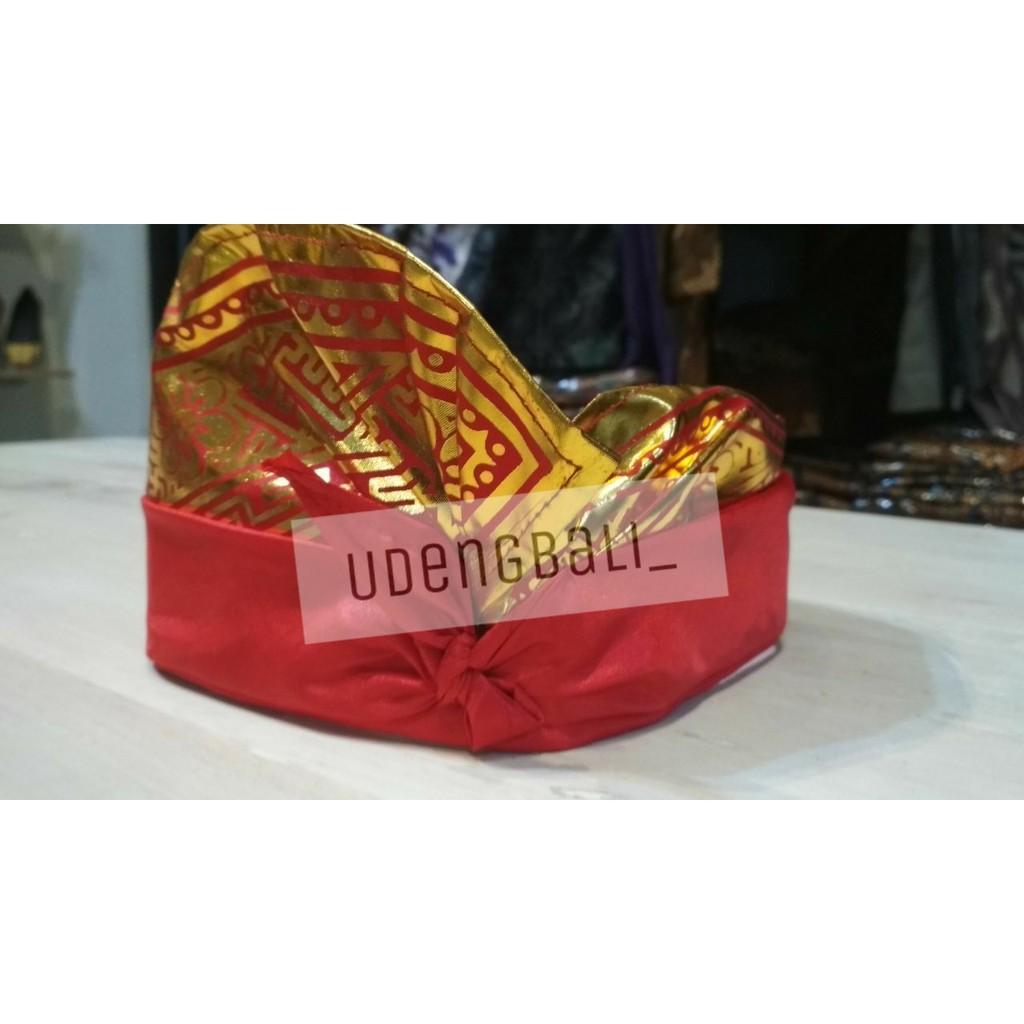 Udeng Bali Setengah Jadi Shopee Indonesia Produk Ukm Endek