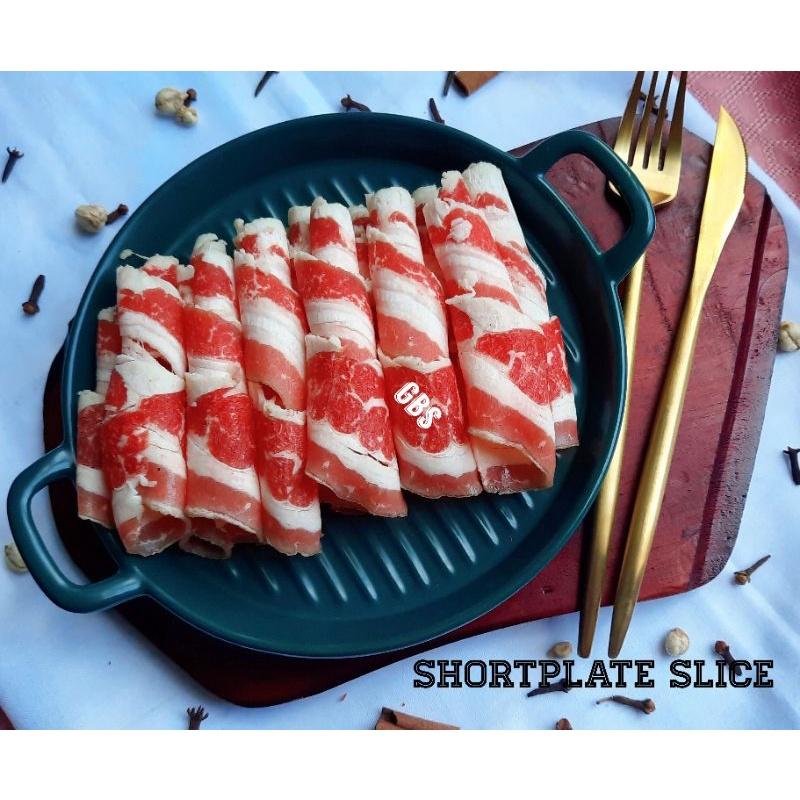 Daging Shortplate Beef Slice 500gr