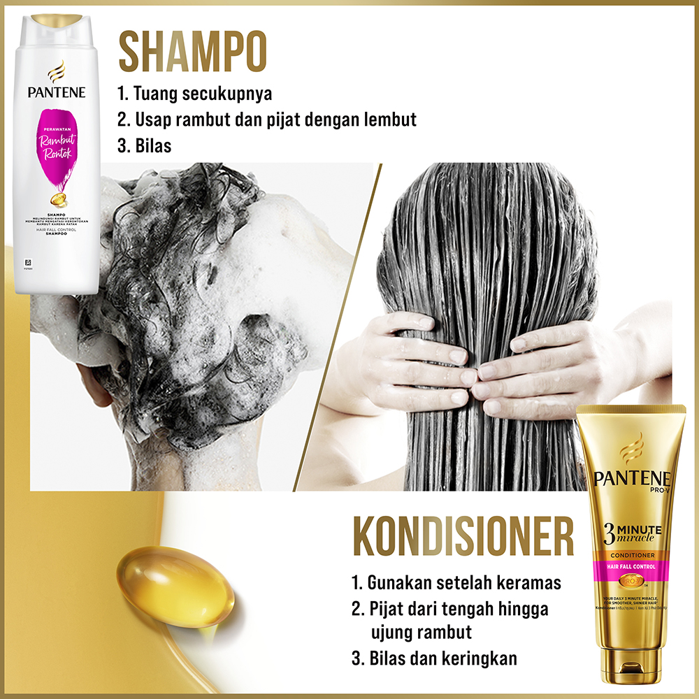 Pantene Shampoo Total Damage Care 750ml [P&G]-8