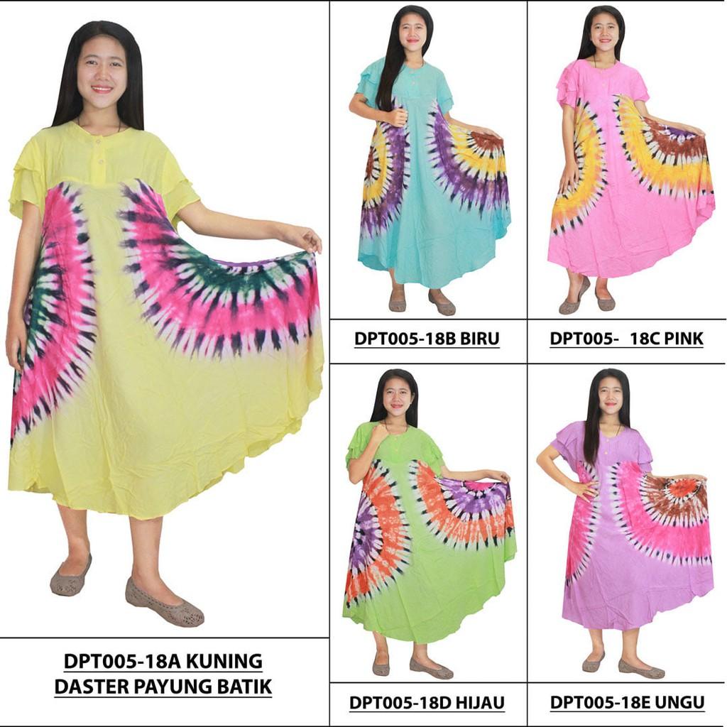 Daster Payung Batik Print Dpt005 23c Daftar Harga Penjualan Cap Rdt001 18 Kancing