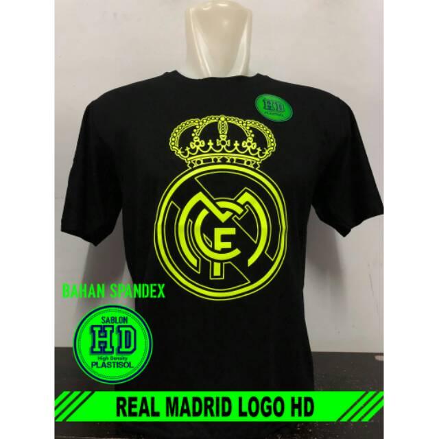 Kaos Real Madrid Logo Hd Baju Distro Joelee Shopee Indonesia