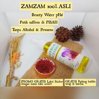 PROMO Saffron Facemist Zamzam & Beauty Water Spray 100ml Face Mist Safron Aira Rose Negin 100 ml thumbnail
