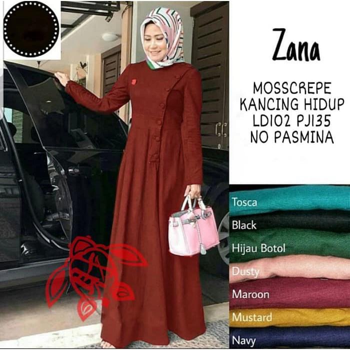Gamis Wanita Murah Modern Maxi Zana Maroon Gamis 0129 Sf7 Baju Gamis Wanita Terbaru 81pgj Shopee Indonesia