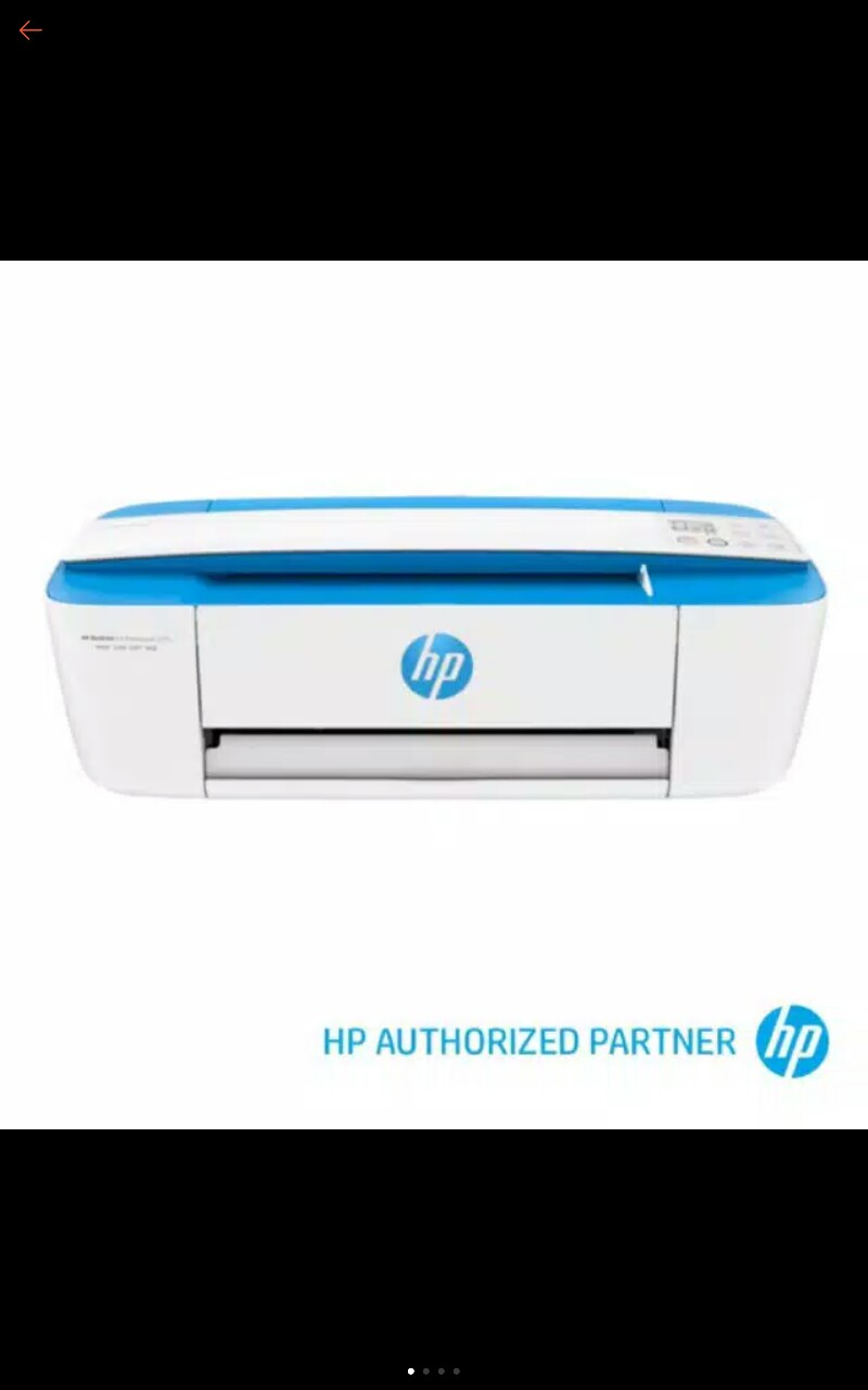 Hp Deskjet Ink Advantage 3775 3776 All In One Printer Shopee Indonesia