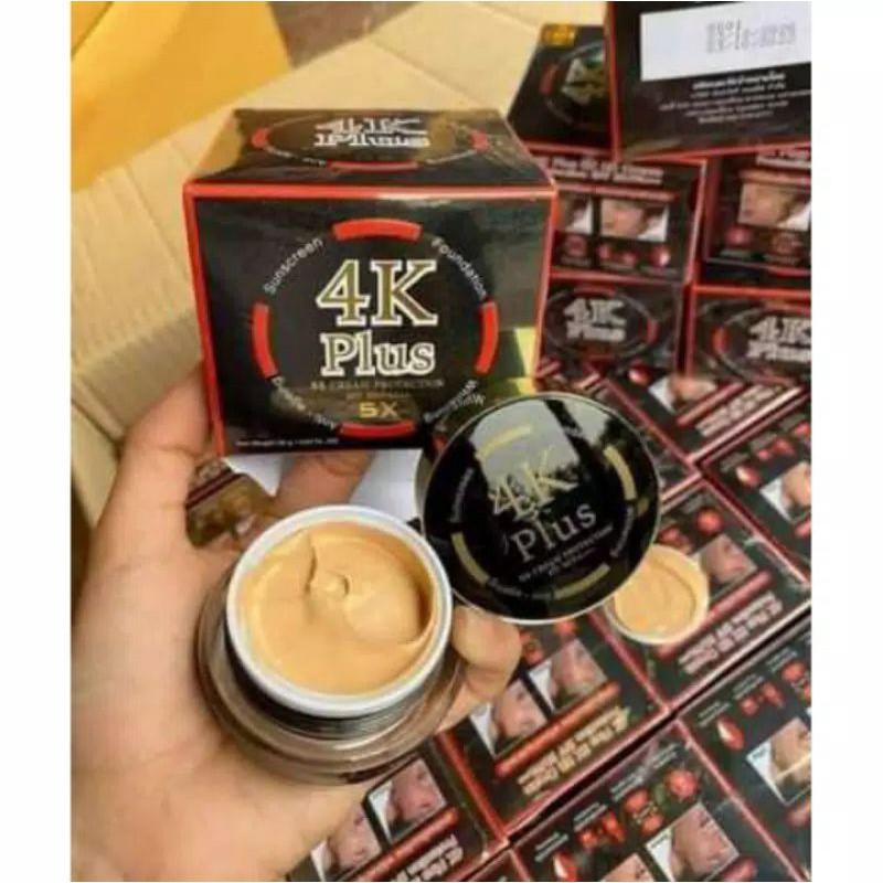 4K Plus Day Cream ++ BB Cream + Foundation + Whitening + Anti Aging ((SPF 50 / PA +++ 5x))