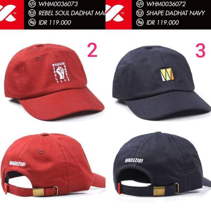 Dijual Baseball Cap Polo Cap Dad Hat Topi WADEZIG Original UPDATED Diskon  dbafd281c3