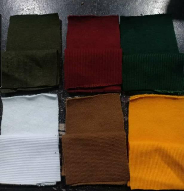 Kain Fleece Cotton Cvc Gramasi 280 300 Tebal Indogrosir Shopee Indonesia