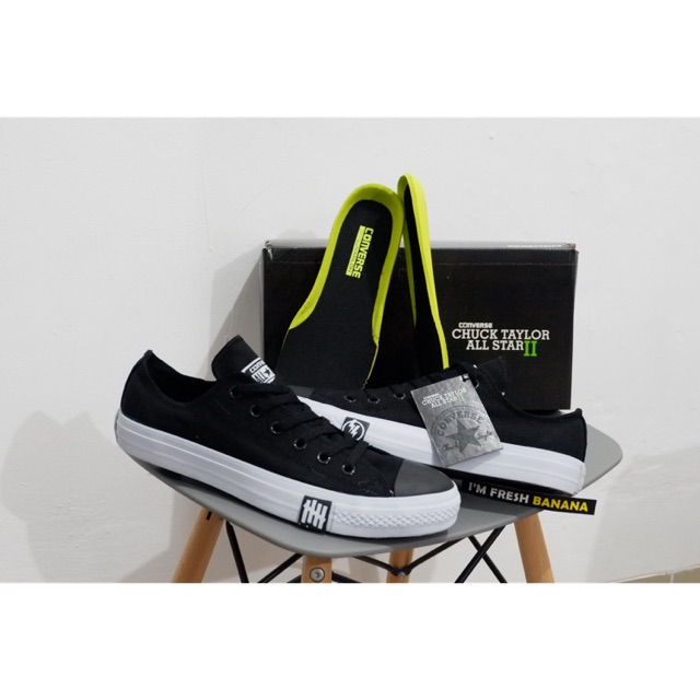 391e8d764a1 Original CONVERSE CT LEAN FULL BLACK BNIB