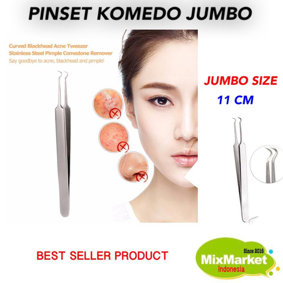JUMBO 11 CM PINSET JEPIT KOMEDO / PINSET KOMEDO [MMI-15GR]   Shopee Indonesia