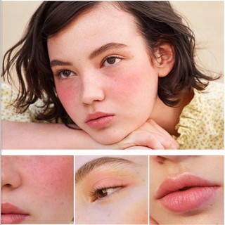 Pretty Comy Makeup Blush On Palet 3 warna Blush Highlight Makeup 7