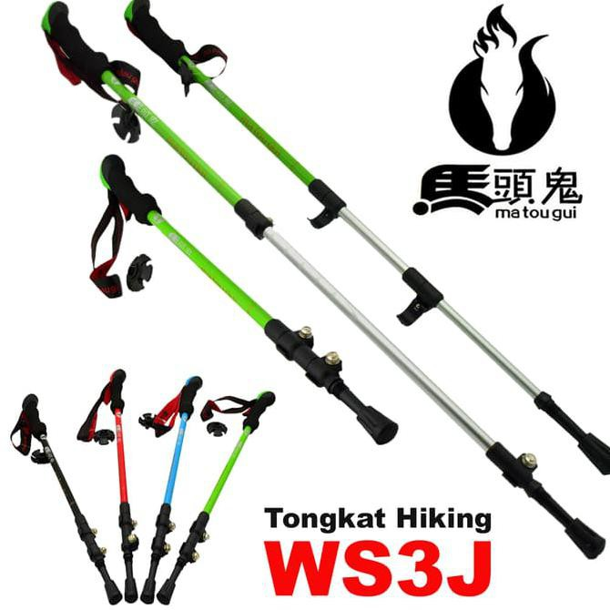 {Best Seller} Tongkat Gunung / Hiking / Trekking Pole / Tracking Pole Murah 4Jlk