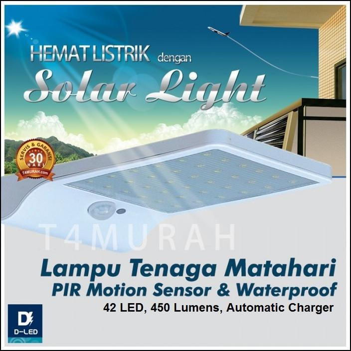 MOCA Lampu Tenaga Surya 16 LED Hemat Energi Kontrol Cahaya Sensor Gerak Inframerah Luar Ruangan | Shopee Indonesia