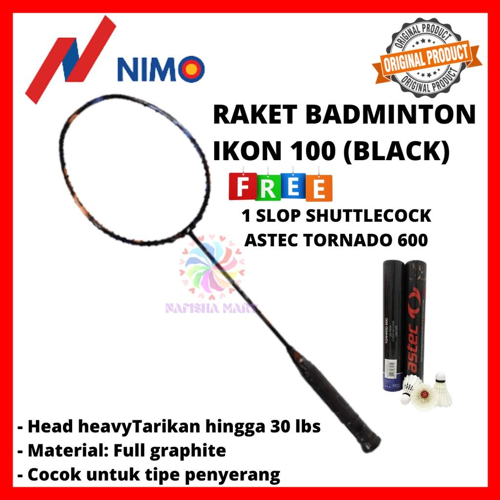 RAKET BADMINTON NIMO IKON 100 ORIGINAL