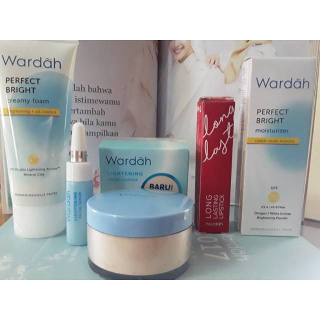 Wardah Paket Perfect Bright Kulit Kusam Berminyak Shopee Indonesia